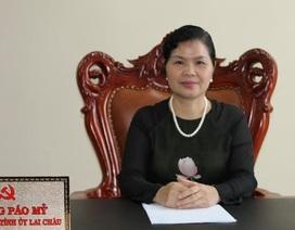 Công bố các quyết định của Bộ Chính trị về công tác cán bộ của tỉnh Lai Châu