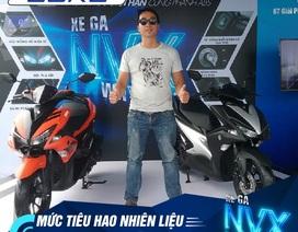 Trải nghiệm người dùng với NVX: Xe ga 155cc nhưng tiết kiệm xăng