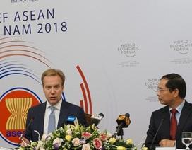 Diễn đàn Kinh tế Thế giới 2018 tại Việt Nam sẽ thảo luận những vấn đề gì?