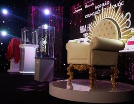 Nhìn ngắm chiếc ghế đăng quang của tân hoa hậu Việt Nam 2018