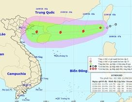 Áp thấp nhiệt đới khả năng mạnh thành bão đã vào Biển Đông
