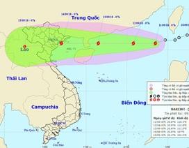 Bão số 5 hình thành, Biển Đông nguy cơ đón siêu bão