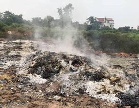 Vụ đổ trộm rác thải nguy hại, đốt phi tang táo tợn tại Bắc Giang là đặc biệt nghiêm trọng!