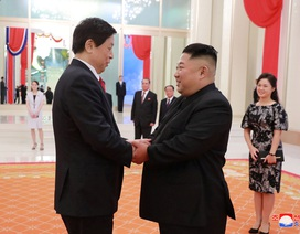 Sự đón tiếp hiếm có của ông Kim Jong-un dành cho quan chức Trung Quốc