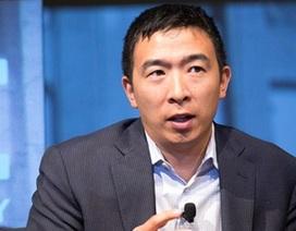 Doanh nhân gốc Á sẵn sàng chia tiền cho người dân nếu đắc cử tổng thống Mỹ