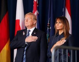 """Tưởng niệm nạn nhân vụ khủng bố 11/9, ông Trump gửi thông điệp """"không khuất phục"""""""