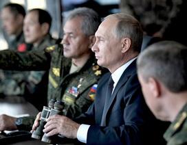 Tổng thống Putin thị sát cuộc tập trận lớn nhất lịch sử hiện đại của Nga