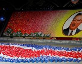 """Du khách choáng ngợp trước màn đồng diễn của """"biển người"""" Triều Tiên"""