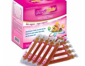 Thu hồi sản phẩm Medikids cho trẻ em