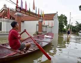 Ứng phó siêu bão Mangkhut, Hà Nội chủ động sơ tán dân vùng ven sông Bùi