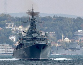 """Lầu Năm Góc: """"Vì sao tàu chiến Nga vẫn áp sát Syria dù đã hết tập trận?"""""""