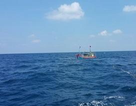 8 nhân viên Viện Hải dương học bị kẹt xoáy nước khi khảo sát trên biển