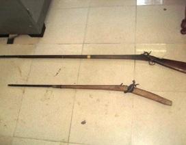 Kiểm lâm bị nhóm thợ săn dùng súng tự chế bắn trọng thương
