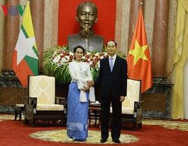 Chủ tịch nước muốn tăng hợp tác với Myanmar phòng chống tội phạm có tổ chức