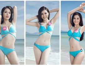 43 người đẹp Hoa hậu Việt Nam thả dáng nuột nà bên bãi biển