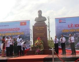 Chính thức khánh thành công viên Fidel Castro tại Quảng Trị