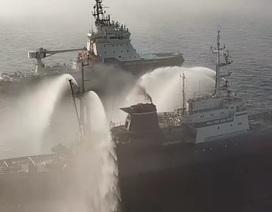 Video đội tàu chiến Nga tập trận gần lãnh thổ Mỹ