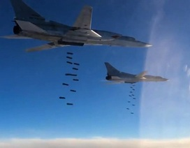 Máy bay Nga san phẳng căn cứ không quân đối phương trong cuộc tấn công mô phỏng
