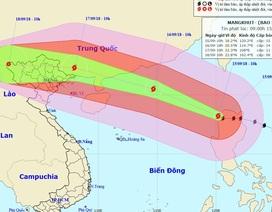 Siêu bão Mangkhut đã vào Biển Đông