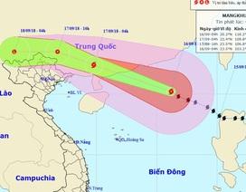 Bão số 6 sẽ vào Trung Quốc, miền Bắc Việt Nam có khả năng mưa lớn
