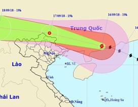 Bão số 6 đã đổ bộ Trung Quốc, Đông Bắc Bộ nước ta sẽ mưa to đến rất to