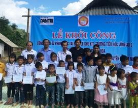 Khởi công xây dựng công trình phòng học Dân trí thứ 23 tại Thanh Hóa