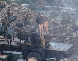 Khoảnh khắc quân đội Syria bắn hạ máy bay không người lái có gắn bom của khủng bố