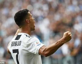 Những khoảnh khắc sung sướng tột độ của C.Ronaldo khi ghi bàn đầu tiên cho Juventus