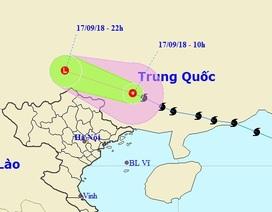 Bão số 6 đã suy yếu thành áp thấp nhiệt đới trên đất liền Trung Quốc