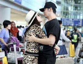 """Chung Lệ Đề hạnh phúc bên chồng trẻ, Châu Kiệt Luân tự hào về """"bà xã"""" xinh đẹp"""