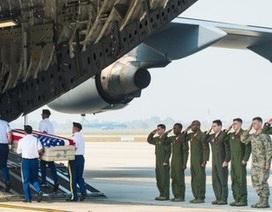Việt Nam bàn giao thêm hài cốt quân nhân Hoa Kỳ trong chiến tranh