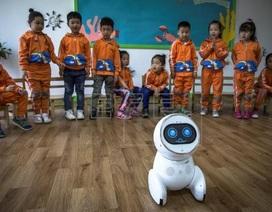 Robot trở thành giáo viên tại hơn 60 trường mầm non Trung Quốc