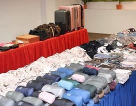 4 người Việt bị nghi trộm hàng trăm món đồ tại Singapore