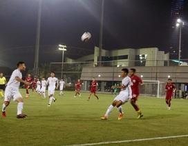 U19 Việt Nam thua đậm Qatar ở trận ra quân cúp tứ hùng