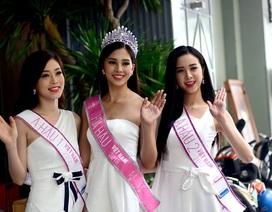 """Hơn 1 giờ """"chat"""" cùng Top 3 Hoa hậu Việt Nam 2018"""