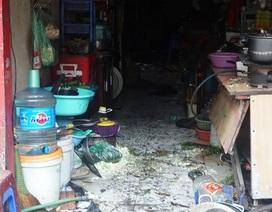 Ngổn ngang hiện trường vụ cháy 9 ngôi nhà trên đường Đê La Thành