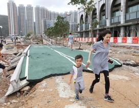 Cảnh tượng ngổn ngang tại những nơi siêu bão Mangkhut càn quét