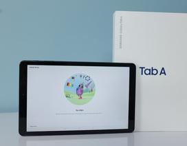 Đập hộp Galaxy Tab A 10.5 chính hãng vừa lên kệ thị trường
