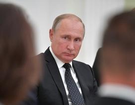 """Tổng thống Putin gọi vụ máy bay trinh sát bị bắn rơi là """"thảm kịch"""""""