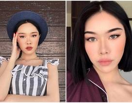 Thiếu nữ Việt xinh đẹp bị nhầm là... con lai