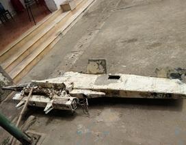 Phát hiện vật thể nghi bộ phận của máy bay trên biển Quảng Bình