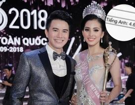 MC Hoa hậu Việt Nam bảo vệ tân Hoa hậu giữa nghi vấn bảng điểm kém