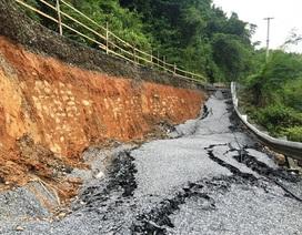 Quốc lộ gần 100 triệu USD vỡ toác: Có phải hoàn toàn do mưa lũ?