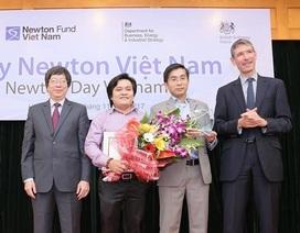 Hai tiến sĩ Việt được vương quốc Anh ghi nhận vì đóng góp khoa học