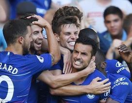 Chelsea 2-0 Bournemouth: Chiến công của Pedro và Hazard
