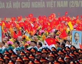 Lãnh đạo nhiều nước trên thế giới chúc mừng Quốc khánh Việt Nam 2/9
