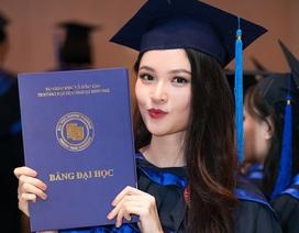 Sau Đỗ Mỹ Linh, đến lượt Á hậu Thùy Dung tốt nghiệp Đại học Ngoại thương
