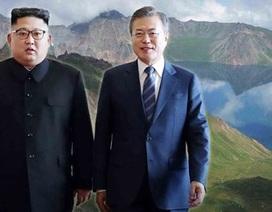 Lãnh đạo Hàn-Triều cùng leo núi thiêng ở Triều Tiên