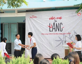 Bia Saigon chắp cánh cho ước mơ của các em học sinh nghèo trên cả nước