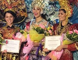 Thúy Vi đoạt giải trang phục truyền thống đẹp nhất tại Miss Asia Pacific International